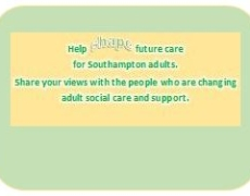 Adult Social Care Consultation: your chance to give your opinion.  Closes 23rd August 2016