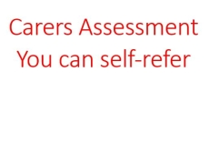 Start the Carers Assessment process yourself here