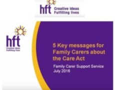 Using the Care Act to get the right support